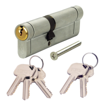 Cylinder key locks supplied and fitted - comes in Chrome and Brass complete with three keys